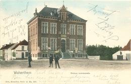 006/30 WOLVERTHEM  - Carte-Vue Maison Communale -  Circulée Poste 1908 - Meise