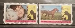 Turkey, 1967, Mi: 2078/79 (MNH) - Cavalli