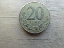 Albanie  20  Leke  2000  Km 78 - Albanie
