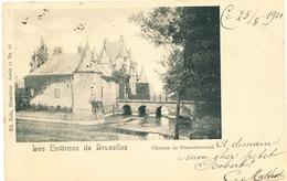 007/30 STEENOKKERZEEL  - Carte-Vue  Le Chateau  De Steenoekerseel -  Circulée Poste 1901 - Steenokkerzeel