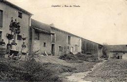 Vends Carte  COYVILLER   Rue De L'ecole ' Animée ' - Other Municipalities