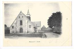 SERAUCOURT  (cpa 02)   Eglise -    - L 1 - France