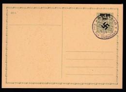 DR Sudetenland Ganzsache P7 Stempel Hainspach Tag Der Befreiung Post Rumburg 1938 K1181 - Deutschland