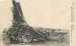 CP GUERRE 1914-15 MORTIER ALLEMAND DE 380 LL - Guerre 1914-18
