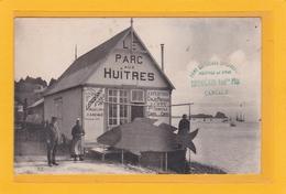 CANCALE-35- METIERS - PECHE - OSTREICULTURE -Le Parc Aux Huitres LEHOËRFF Auguste - Parc Du Rocher De Cancale -Animation - Cancale