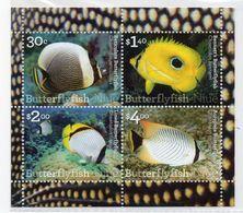 NIUE - FAUNE MARINE - POISSONS - FISH - TROPICAL FISH - POISSONS TROPICAUX - 2017 - B/F - M/S - - Niue