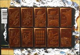 FR. 2009 - FEUILLE F4357 - Le Chocolat - 10 TIMBRES NEUFS** Pour Une Valeur Faciale De 5,60€ - TBE - Sheetlets