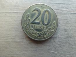 Albanie  20  Leke  2000  Km 78 - Albania