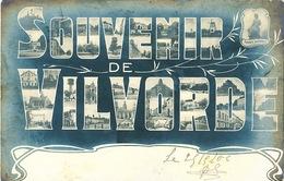 009/30  VILVORDE  - Carte-Vue Souvenir De Vilvorde - Vues Multiples - Circulée Poste 1906 - Vilvoorde