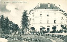 010/30  VILVORDE  - Carte-Vue  Avenue De La Station - Belle Animation - Circulée Poste 1908 - Vilvoorde
