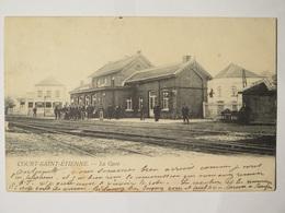 Court-Saint-Etienne La Gare  (Station) - Court-Saint-Etienne