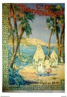 Navigation CG Transatlantique PLM Algérie Tunisie Marseille-Alger - Postcard - Poster Reproduction - Publicité
