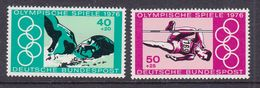 GERMANY 1976 Nº YVERT 735/6 OLYMPIC GAMES MONTREAL - Estate 1976: Montreal