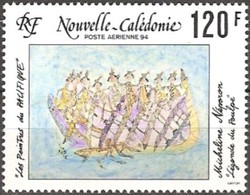 Nouvelle-Calédonie 1994 Yvertn° LP PA 313 *** MNH Cote 3,30 Euro  Peintre Micheline Néporon - Poste Aérienne