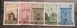 Turkey, 1968, Mi: 2115/19 (MNH) - 1921-... República