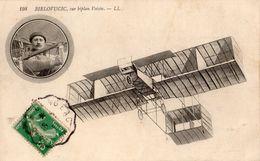 L'AVIATEUR BIELOVUCIC SUR BIPLAN VOISIN - Aviatori