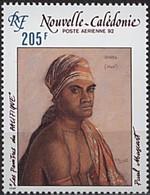Nouvelle-Calédonie 1992 Yvertn° LP PA 287 *** MNH Cote 5,60 Euro  Peintres Du Pacifique Paul Mascart - Poste Aérienne