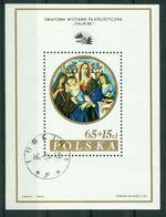 BM Polen 1985 | MiNr Block 96 I (2997) | Used | Internationale Briefmarkenausstellung ITALIA, Rom - Blocks & Sheetlets & Panes