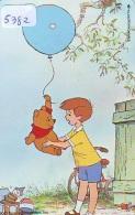Télécarte Japon DISNEY / 110-211073 - Série WINNIE POOH COLLECTION / Ballon (5382) Japan Phonecard / 3000 EX - Disney