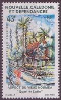 Nouvelle-Calédonie 1981 Yvertn° LP PA 218 *** MNH Cote 2,20 Euro  Vieux Nouméa - Poste Aérienne