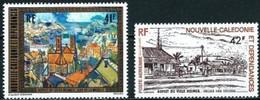 Nouvelle-Calédonie 1977 Yvertn° LP PA 182-183 *** MNH Cote 8,40 Euro  Vieux Nouméa - Poste Aérienne