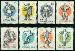 BM Ungarn 1959   MiNr 1601-1608 A   MNH   Weltmeisterschaft Im Fechten, Budapest - Ungheria