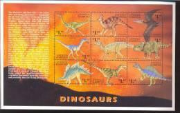 ANTIGUA & BARBUDA   2252** MINT NEVER HINGED MINI SHEET OF DINOSAURS - Briefmarken