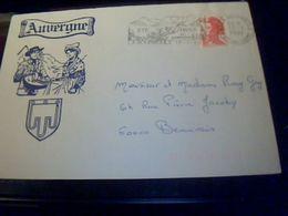 Marcophilie Enveloppe   Philathelique   Bretagne   Avec Flamme Et Cachet Couarec   Annee 1987 - Marcophilie (Lettres)