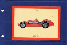 ##(YEL1)-    Ferrari  500 F2 -nuova - Unused - Cartes Postales
