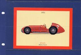 ##(YEL1)-    Ferrari  375 F1 -nuova - Unused - Cartes Postales