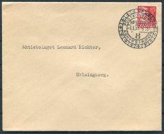 1936 Denmark Copenhagen Frihavn Postkontoret Cover - Covers & Documents