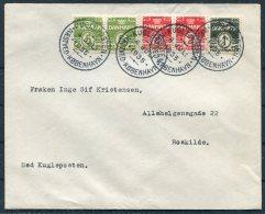 1935 Denmark Naestved/Kobenhavn Kugleposten Cover - Covers & Documents