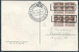 1938 Denmark Landbrugsudstillingen Postcard - Covers & Documents