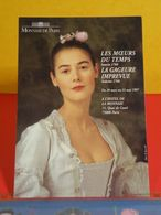 Carte Publicité > Monnaie De Paris > Les Moeurs Du Temps, La Gageure Imprévue (1997) - Monnaies (représentations)