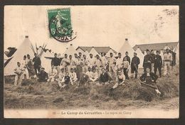 - 16 - Le Camp De Cercottes - Le Repos Au Camp - Regiments