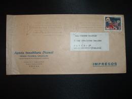 LETTRE TP NAVIDAD 1971 2 P OBL.MEC.31 DIC 71 GERONA + AGENCIA IMMOBILIARIA PICAMAL PEDRO PICAMAL SALELLAS - 1931-Aujourd'hui: II. République - ....Juan Carlos I