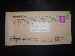 LETTRE TP FRANCO 2 P OBL.MEC.29 DIC 72 GERONA + AGENCIA IMMOBILIARIA PICAMAL - 1931-Aujourd'hui: II. République - ....Juan Carlos I
