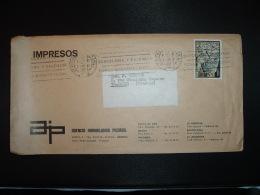 LETTRE TP NAVIDAD 1973 2 P OBL.MEC.10 ENE 74 GERONA + AGENCIA IMMOBILIARIA PICAMAL - 1931-Aujourd'hui: II. République - ....Juan Carlos I