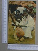GUINÉ    - TOCADOR DE KORA  -  MANDINGA - 2 SCANS  - (Nº19963) - Guinea-Bissau