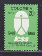COLOMBIE AERIENS N°  498 ** MNH Neuf Sans Charnière, TB (D4733) Institut Colombien De La Sécurité Sociale - Colombie