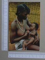 GUINÉ    - REFEIÇÃO DO BEBE  -  BEAFADA - 2 SCANS  - (Nº19967) - Guinea-Bissau