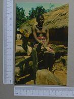 GUINÉ    - RAPARIGA FULA  -  BISSAU - 2 SCANS  - (Nº19968) - Guinea-Bissau