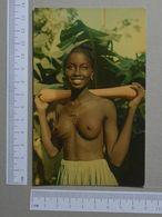 GUINÉ    - RAPARIGA PAPEL TATUADA  -  BIOMBO - 2 SCANS  - (Nº19970) - Guinea-Bissau