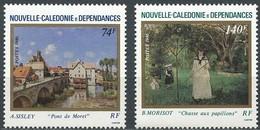 Nouvelle-Calédonie 1986 Yvertn° 529-530 *** MNH Cote 7,60 Euro - Nouvelle-Calédonie