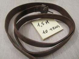 Sangle D'équipement Ww2 1.5m 10 Trous - 1939-45