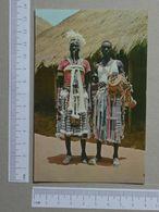 GUINÉ    - TOCADOR E BAILARINO  -  FARIM - 2 SCANS  - (Nº19975) - Guinea-Bissau