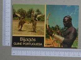GUINÉ    - DEUS PEIXE  -  BIJAGÓS - 2 SCANS  - (Nº19976) - Guinea-Bissau