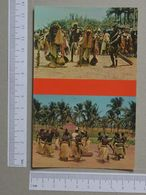 GUINÉ    - DANÇAS  -  BIJAGÓS - 2 SCANS  - (Nº19977) - Guinea-Bissau
