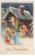 Nr.+ 165,  Schöne Weihnachts-AK, Santa Claus - Unclassified