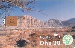TARJETA TELEFONICA DE EMIRATOS ARABES UNIDOS. CHIP. (055). - Emiratos Arábes Unidos